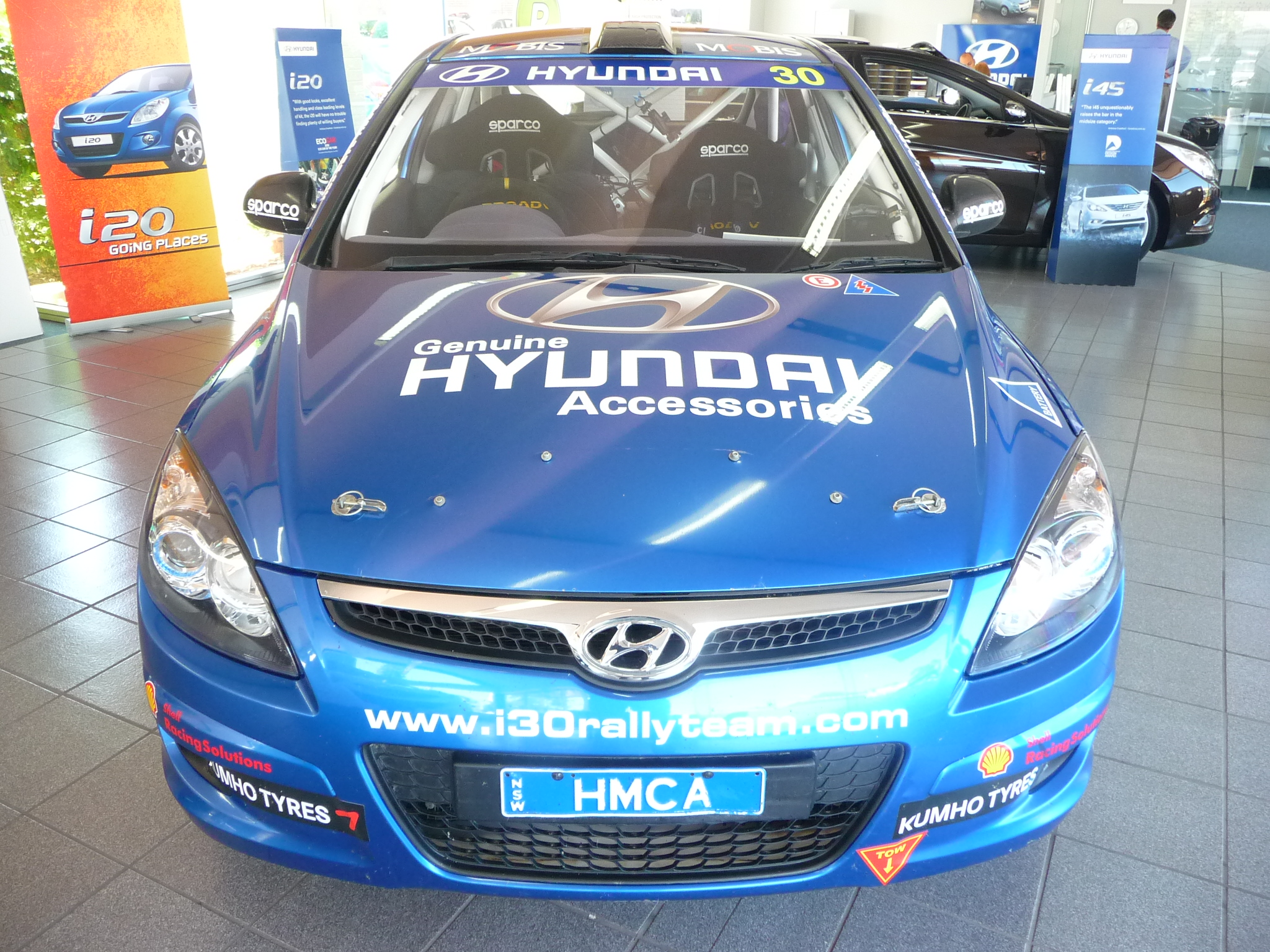 Hyundai I30 Rally Car Here For A Limited Time Col