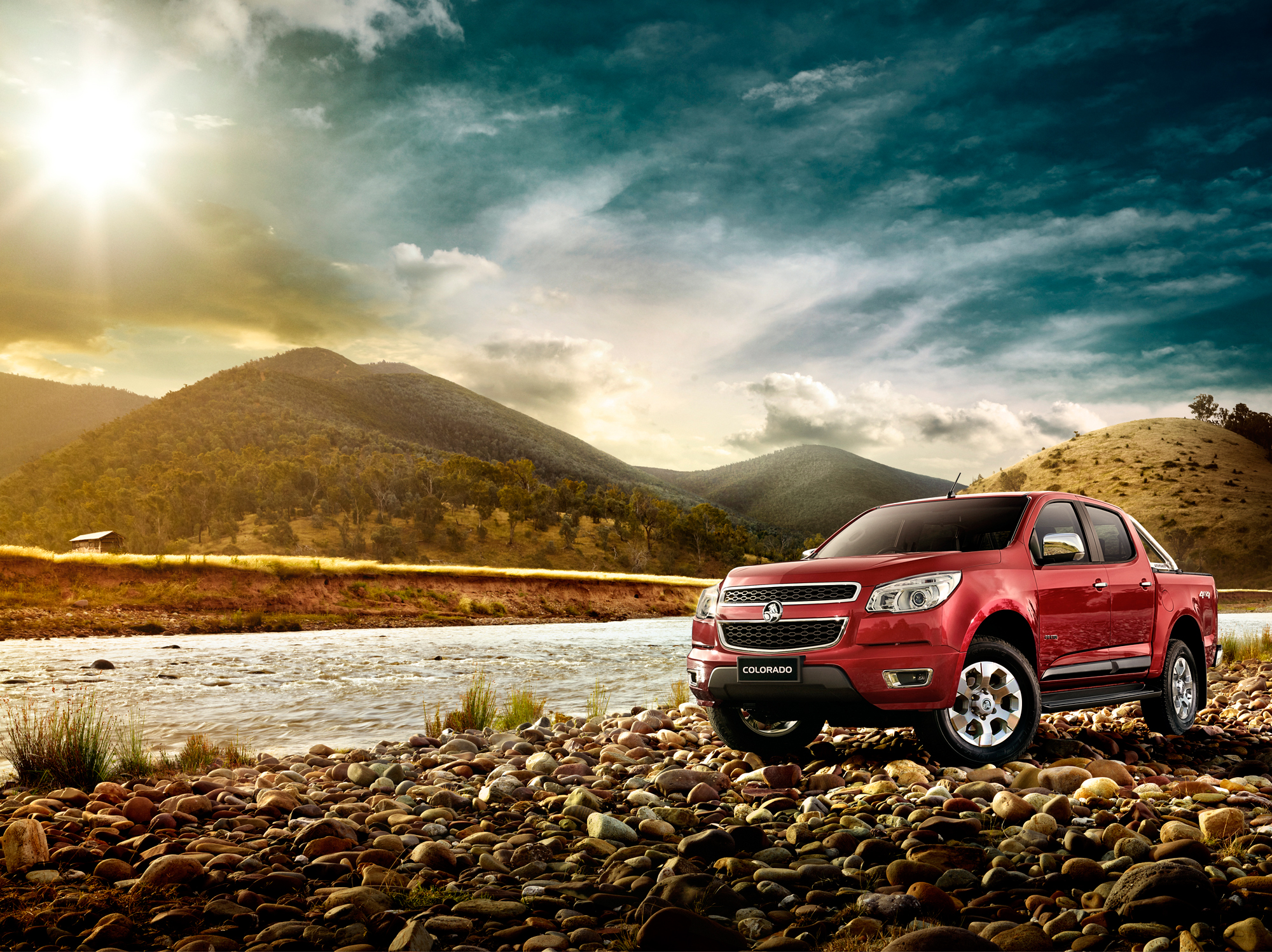 The All New Holden Colorado Tough Just Got A Whole Lot