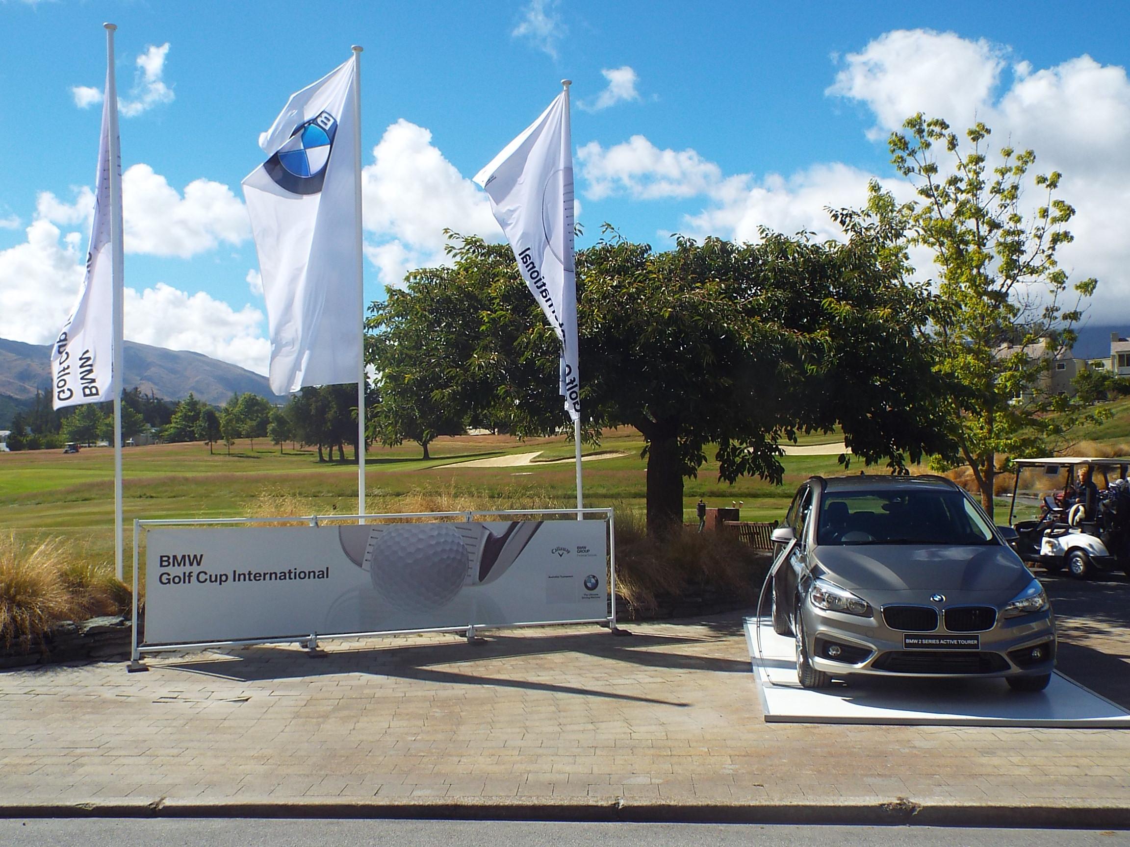 COL CRAWFORD BMW GOLF FINALISTS ENJOY THE BMW ROYAL ...