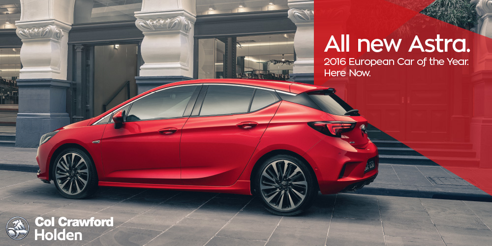 Come and check out he all new 2017 Holden Astra