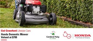 WIN a Honda Lawn Mower