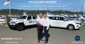 We are proud to continue our partnership with The RMYC.