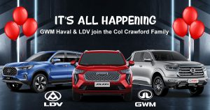 GWM Haval joins the Col Crawford family