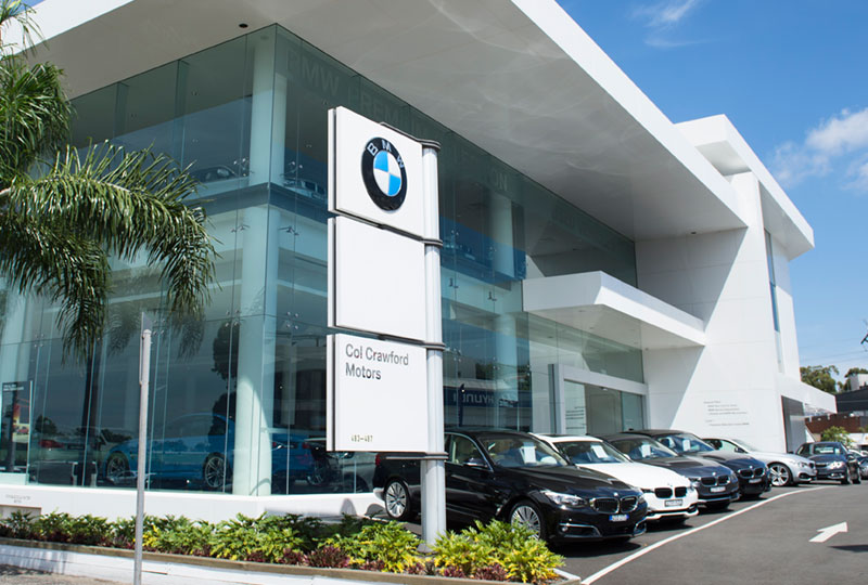 showroom bmw dealer sydney