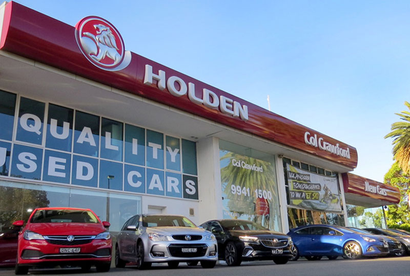 Col Crawford Dealership Locations Northern Beaches