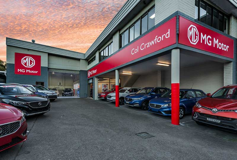 MG Dealer Sydney Servicing the Northern Beaches