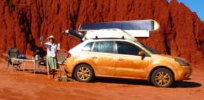 Renault Koleos travels the outback